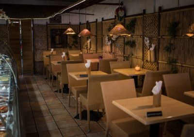 Interieur van Indonesisch Restaurant Anak Blitar in Hoofddorp