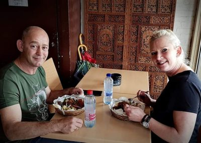 Trouwe gasten van Indonesisch Restaurant Anak Blitar in Hoofddorp